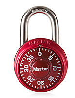 MasterLock 1530MCND Zinc Alloy Rotary Pad Lock 3 Digital Password Gym Locker Padlock Padlock Dail Lock Password Lock