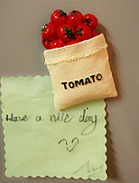 Creative Tomato Fridge Magnetic Stickers Home Decoration Wall Decal