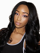 Body Wave 360 Lace Frontal Wigs For Black Women Human Hair Wigs With Baby Hair Pre Plucked 180% Density Peruvian Remy Hair