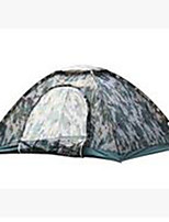 3-4 persons Tent Single Camping Tent Fold Tent Keep Warm Dust Proof for Camping / Hiking CM Other Material