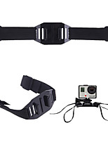 Gopro Accessories Adjustable Head Ventilation Helmet Belt Mounting Adapter Mounts for Go pro Hero 2 3 4 5 Sjcam XIAOMI sj4000 Sport