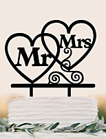 Custom love English letter acrylic wedding cake decorated birthday cake decorating birthday cake