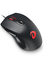 Dareu LM107 6Keys 3200DPI USB Luminous Game Mouse With 150CM Cable