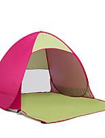 COME 2 personnes Tente Tente de Plage Unique Tente de camping Tente de Plage Résistant aux ultraviolets Etanche Résistant à la poussière
