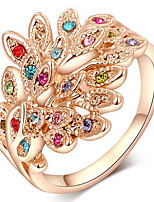Ring Settings Ring Band Rings Women's Euramerican Luxury Elegant Wings  Business Multicolor Anniversary Party Movie Gift Jewelry