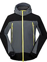 Homens Blusas Acampar e Caminhar Pesca Alpinismo A Prova de Vento Á Prova-de-Chuva Respirável Anti-desgaste Inverno Outono