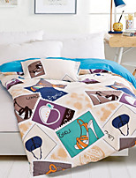 Duvet Cover Novelty 1 Piece Reactive Print 1pc Duvet Cover