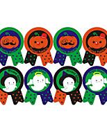 Acessórios do partido Autocolantes Ocasião Especial Halloween Festa/Noite Natal Animais Férias Tema Fadas Outros Desenho Animado Papel