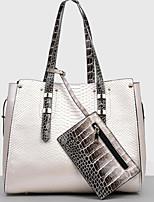 Women Shoulder Bag PU All Seasons Casual Outdoor Round Zipper Beige Black Blue