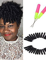 10inch CURLKALON Hair Short Curly Crochet Braids Hair kanekalon fiber 20strands/pack Synthetic toni Curl Braiding Hair Extensions 5packs make head