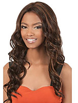 Black Brown Body Wave Wigs Sexy Fashion Natural Wig for Women Hot Design High Quality Heat Resistant Synthetic WIgs