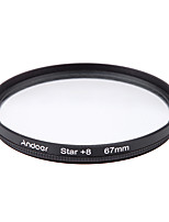 Andoer 67mm Filter Set UV  CPL  Star 8-Point Filter Kit with Case for Canon Nikon Sony DSLR Camera Lens