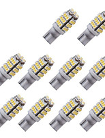 10pcs T10 3014 42SMD W5W 42Led Reading Light Indicator Lamp Car Automotive Led License Plate Lights DC12V