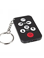 Mini Universal Infrared IR TV Set Remote Control Keychain Key Ring 7 Keys wholesale dropping