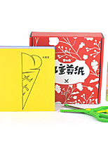 DIY KIT Paper Model Square Paper 6 Years Old and Above 3-6 years old