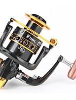 Fishing Reel Bearing Molinetes Rotativos 5.2:1 13 Rolamentos Trocável Pesca de Água Doce Pesca de Isco Pesca Geral Pesca de Isco e Barco-