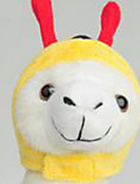 Hund Kopftücher & Hüte Hundekleidung Party Cosplay Tier Gelb Grün
