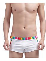 Men's Sexy Color Block Shorties & Boyshorts Panties Boxers Underwear