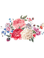 Wall Stickers Wall Decas Style Flowers PVC Wall Stickers