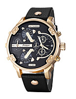 Hombre Reloj Deportivo Reloj Militar Reloj de Vestir Reloj de Moda Reloj de Pulsera Reloj Pulsera Reloj Casual Chino CuarzoCalendario