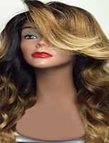 T1B/4/27 Brown Body Wave Brazilian Human Virgin Hair Glueless Full Lace Wigs With Baby Hair For Black Women