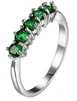 Ring Settings Ring Band Rings Women's Euramerican Luxury Elegant Simple Style Zircon  Wedding Party Birthday Movie Jewelry