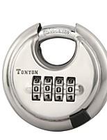 TONYON 25005 Password Unlocked 4 Digit Password Door Lock Dail Lock and Password Lock