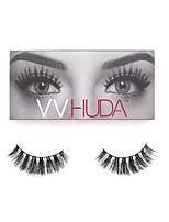 VVHUDA 3D Mink LASHES False Eyelashes Eyes Natural Fiber Black Criss-crossed High Quality Daily Makeup Beauty Collection Sophia