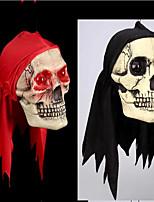 Хэллоуин украшения элементы те трюк трюк игрушки глаза будут светиться красный шарф черепа дурацкий реквизит ужас цвет случайный