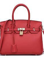 Women Shoulder Bag PU All Seasons Casual Outdoor Rectangle Zipper Ruby Gray Blue