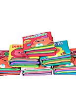 Образовательные игры с карточками Квадратный Ткань 1-3 лет 3-6 лет