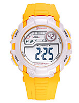 Kid's Sport Watch Digital Water Resistant / Water Proof Rubber Band Blue Red Purple Yellow