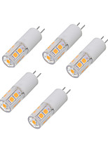 3W Luces LED de Doble Pin T 13 SMD 2835 200-300 lm Blanco Cálido Blanco Fresco V