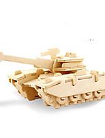 Puzzle Kit fai-da-te Puzzle 3D Modellini di metallo Costruzioni Giocattoli fai da te Carro armato Lengo naturale