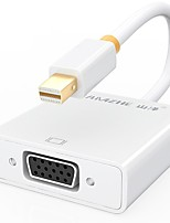 SAMZHE  ZJX-150 Mini DisplayPort Adapter Mini DisplayPort to VGA Adapter Male - Female Gold-Plated Copper 0.25m(0.8Ft)