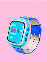 Kid's Smart Watch Digital Leather Band Blue Orange Pink