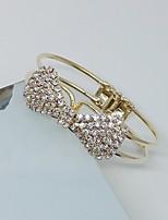 Femme Manchettes Bracelets Mode Forme de Noeud Bijoux PourSoirée Occasion spéciale Anniversaire Soirée / Fête Fête/Soirée Bureau/Carrière