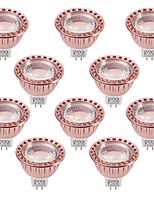 5W Spot LED MR16 1 COB 400-500 lm Blanc Chaud Blanc Froid Intensité Réglable Décorative V 10 pièces
