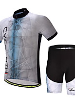 CYCEARTH Cycling Jersey Shorts Pants Short Sleeve Set Men's Bike Clothing Suits Clothes Summer Breathable Quick Dry CES1004