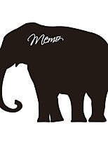 Wall Stickers Wall Decas Style Elephant Blackboard PVC Wall Stickers