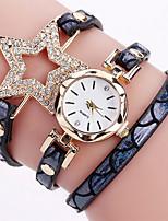 Damen Kinder Modeuhr Armband-Uhr Einzigartige kreative Uhr Armbanduhren für den Alltag Chinesisch Quartz Kalender Wasserdicht PU Band