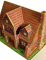 Jigsaw Puzzles 3D Puzzles Building Blocks DIY Toys Square Hard Card Paper