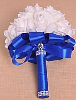 Wedding Flowers Bouquets Wedding Foam Satin 8.27