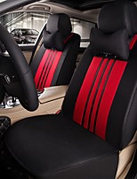 Car Seat Cushion Car Seat Cover Family Car Silk Fabric Materials Used In Four Seasons Of--Black Red