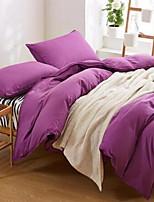 Zebra 4 Piece Cotton Reactive Print Cotton 1pc Duvet Cover 2pcs Shams 1pc Flat Sheet