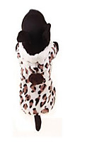 Dog Coat Dog Clothes Casual/Daily Geometric Leopard