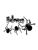 Wall Stickers Wall Decas Style Halloween Spider PVC Wall Stickers
