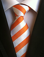 Men's Polyster Neck TieNeckwear Striped All Seasons W0060