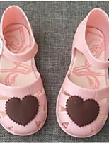 Girls' Sandals Comfort PVC Summer Casual Comfort Blushing Pink Black Flat