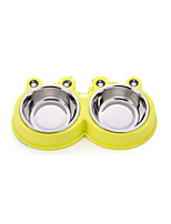 Cat Dog Bowls & Water Bottles Pet Bowls & Feeding Wateproof Portable Durable Green Ruby